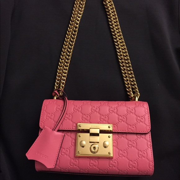 94d67c3959a6 Gucci Bags   Authentic Pink Padlock Bag   Poshmark